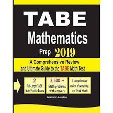 TABE Math Prep 2019 - By Reza Nazari & Ava Ross (Paperback) : Target