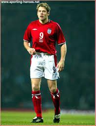 James Beattie - English Caps 2003 - England