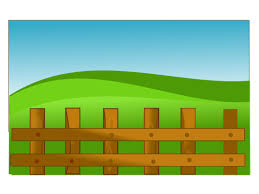 Farm Fence Free Svg