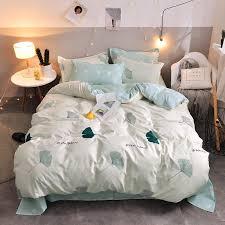 designer bed comforters sets print