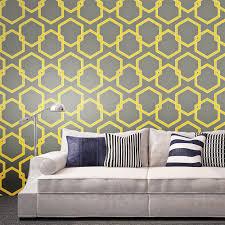 24159 gray yellow and white wallpaper