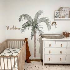 Large Palm Tree Wall Decals Little Rae Prints