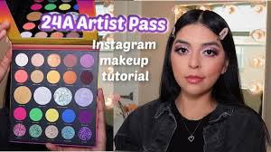 insram makeup tutorial 24a artist