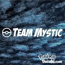 Pokemon Go Team Mystic Windshield Decal W Pokeball Large Big Etsy
