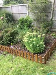 Forest Garden Timber Picket Fence Style Border Edging 280 X 1100 Mm Wickes Co Uk