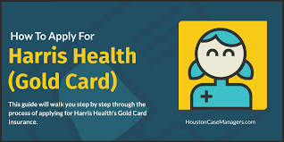 apply for harris health gold card