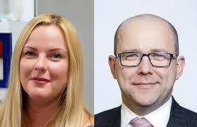 Asset Servicing Times | Emma Johnson and Mike Clarke of Deutsche ...