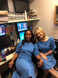 """Abby D. Phillip on Twitter: """"On Wednesdays in the WH booth, we wear powder  blue 😂 @PamelaBrownCNN… """""""