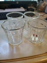 unie glass tumbler set of 6 11 5 oz