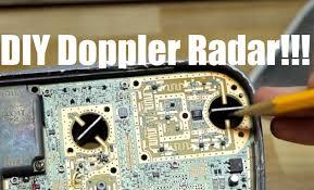 sd radar from satellite dish lnb