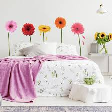 Gerber Daisies Giant Wall Decals Roommates Decor