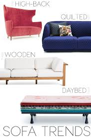 sofa trends and top designers sofas to