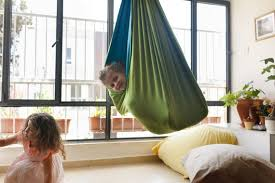 Kids Room Decor Indoor Swing Hanging Chair Sensory Swing Etsy