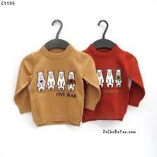 Áo len cho bé trai 1-2-3-4-5 tuổi – DoChoBeYeu.com