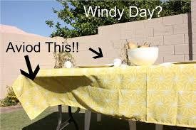 fly away tablecloths