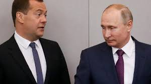 Dmitry Medvedev stays on as Putin begins fourth term | World | The Times