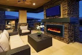 tv electric fireplace ideas