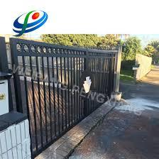 China Aluminum Modern Fence Gate Design China Door And Swing Gate Price