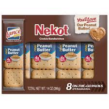 lance nekot peanut er cookie