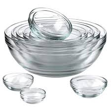 glass mixing bowls are a must have for