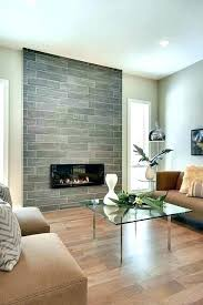 modern fireplace tile designs