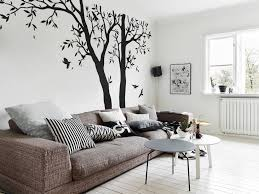 Large Tree Wall Sticker Large White Tree With Birds Decal Etsy Bedroom Wall Designs Home Wall Decor Tree Wall Stickers