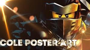 LEGO NINJAGO | Cole Poster Art