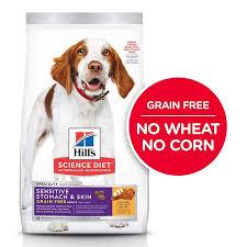 sensitive stomach skin dry dog food