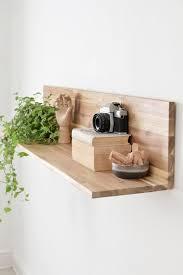 installing a floating shelf is easy