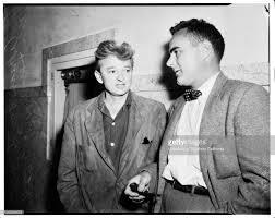 Robinson suicide, 7 June 1952. Adrian Scott;Attorney Robert Morris ...