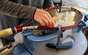 ガット張り替えお任せください|アズテニス