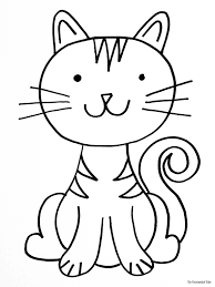 Kleurplaten Katten Kleurplaten Katten Katten Tekening