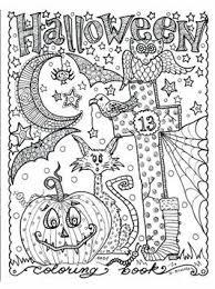 Kids N Fun 15 Kleurplaten Van Halloween Voor Volwassen