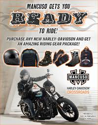 ready to ride mancuso harley davidson