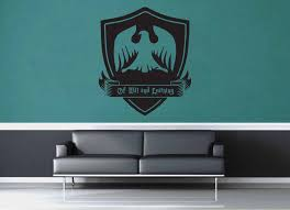 Ravenclaw Crest Harry Potter Wall Decal Geekerymade