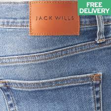 jack wills skinny jean mid indigo w28