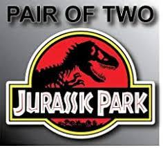 Amazon Com Jurassic Park Jeep Decals