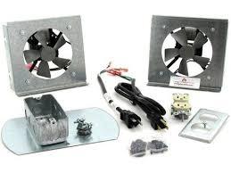 fk18 fireplace blower fan kit for