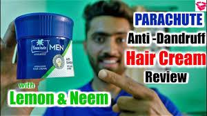 parachute anti dandruff hair cream