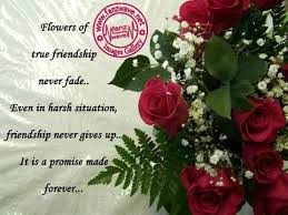 flower of true friendship never fade friendship quote collection