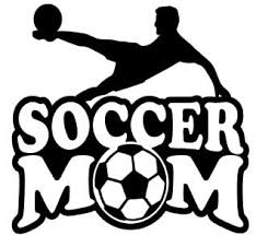 Sports Mom Decal Soccer