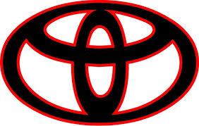 Toyota Logo Decal Sticker 10