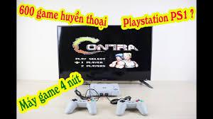 Máy chơi game 4 nút IB RS86 - 600 game huyền thoại Contra, Super mario,  Bomber man, Advanture Island - YouTube