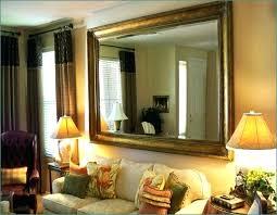 mirror design ideas for living room