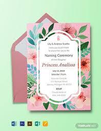 free baby naming ceremony