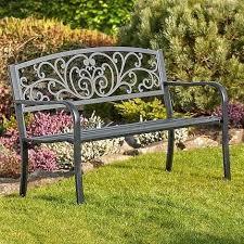 metal garden benches desertrain me