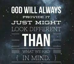 quotes about god will provide quotes