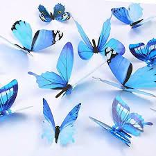 Butterfly Wall Decals 24 Pcs 3d Butterfly Removable Mural Stickers Wall Sticker For Sale Online