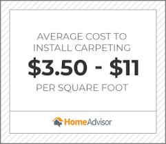 2020 carpet installation cost carpet