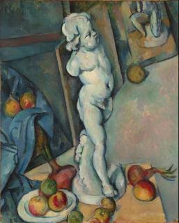 Image result for paul cezanne still life with plaster cast""
